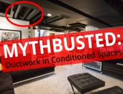 Ductwork in Conditioned Space Myth Busted