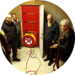Performance Contracting with Blower Door